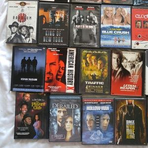Mystery movies DVDs